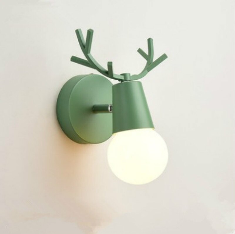 Cartoon Deer Wall Lights (1)