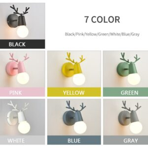 Cartoon Deer Wall Lights