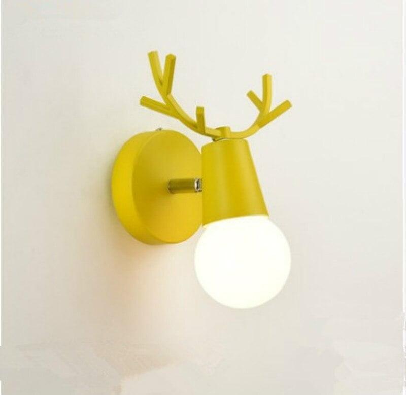 Cartoon Deer Wall Lights (2)