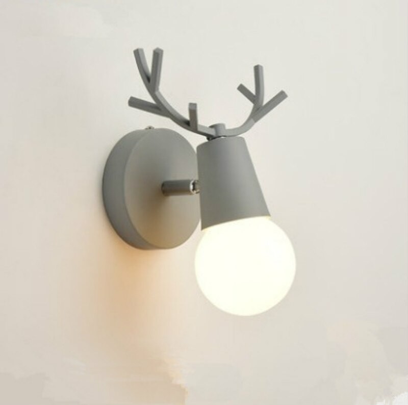 Cartoon Deer Wall Lights (3)