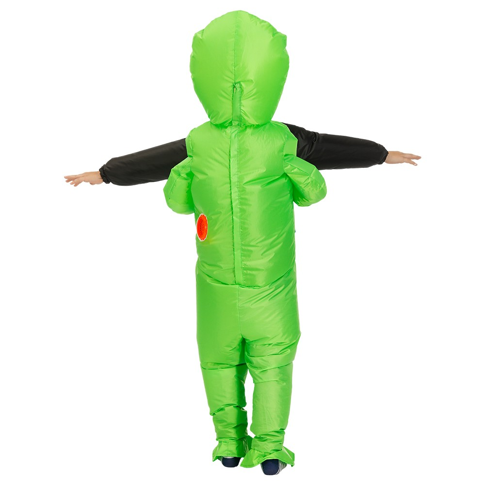 Green Alien Carrying Human Costume (1)