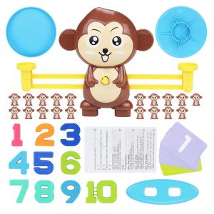 Monkey Balance Scale - Math Game 1