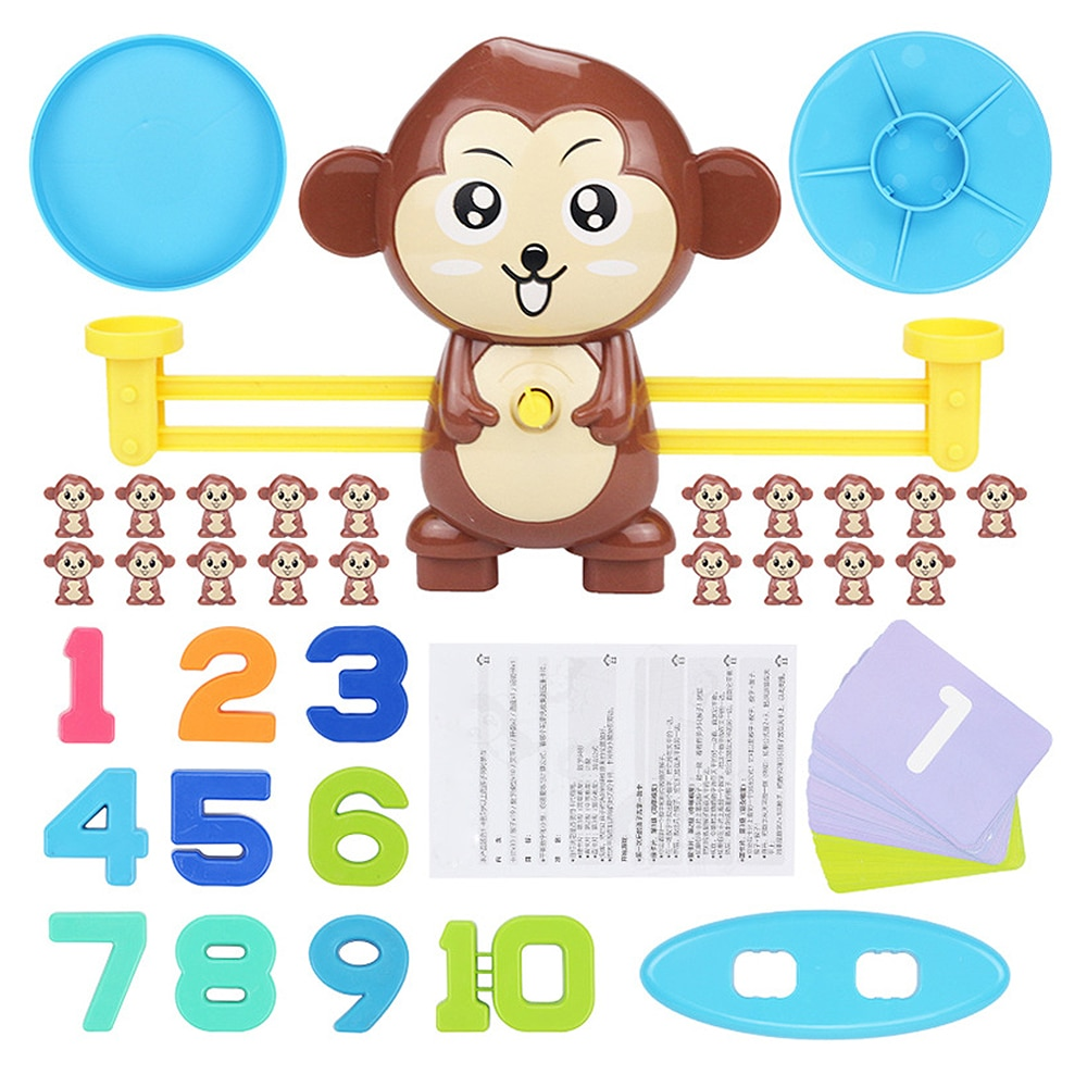 HTB1LlLiXJfvK1RjSspfq6zzXFXaG - Monkey Balance Scale - Math Game