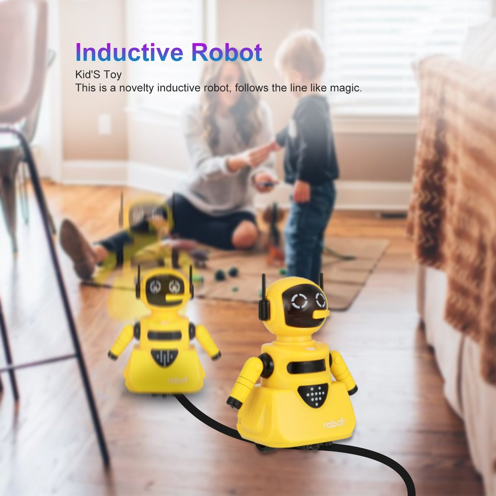 Inductive magical track robot 6