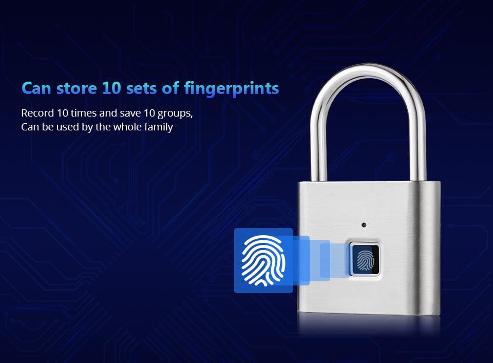 Smart Fingerprint Lock 4
