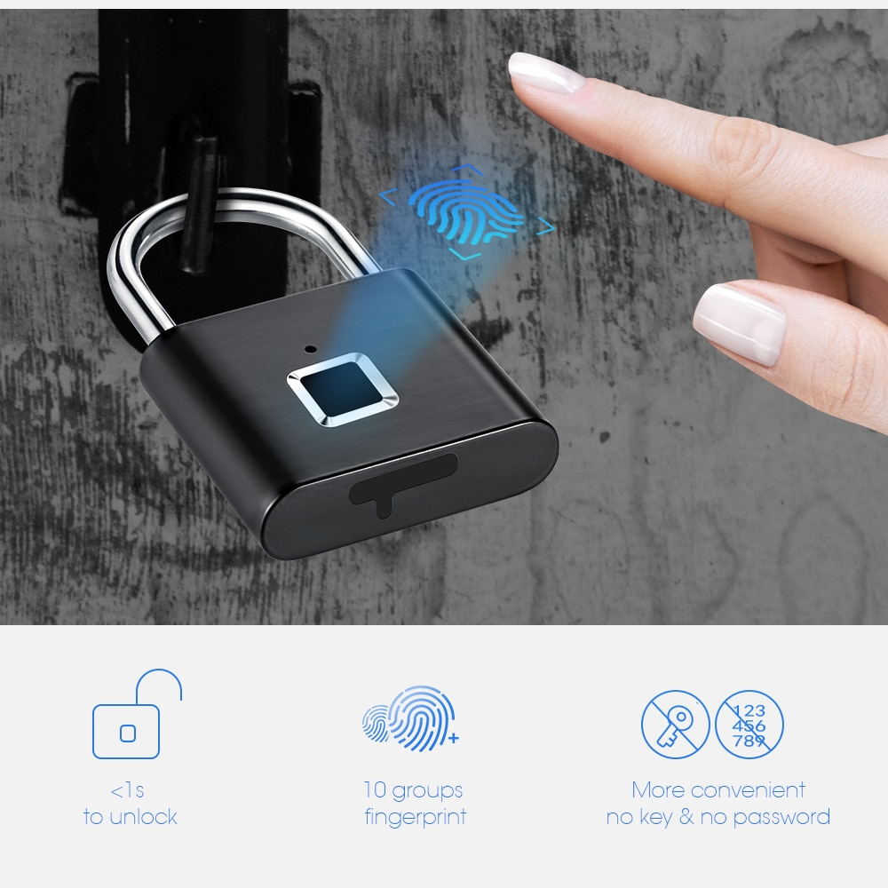 Smart Fingerprint Lock 4