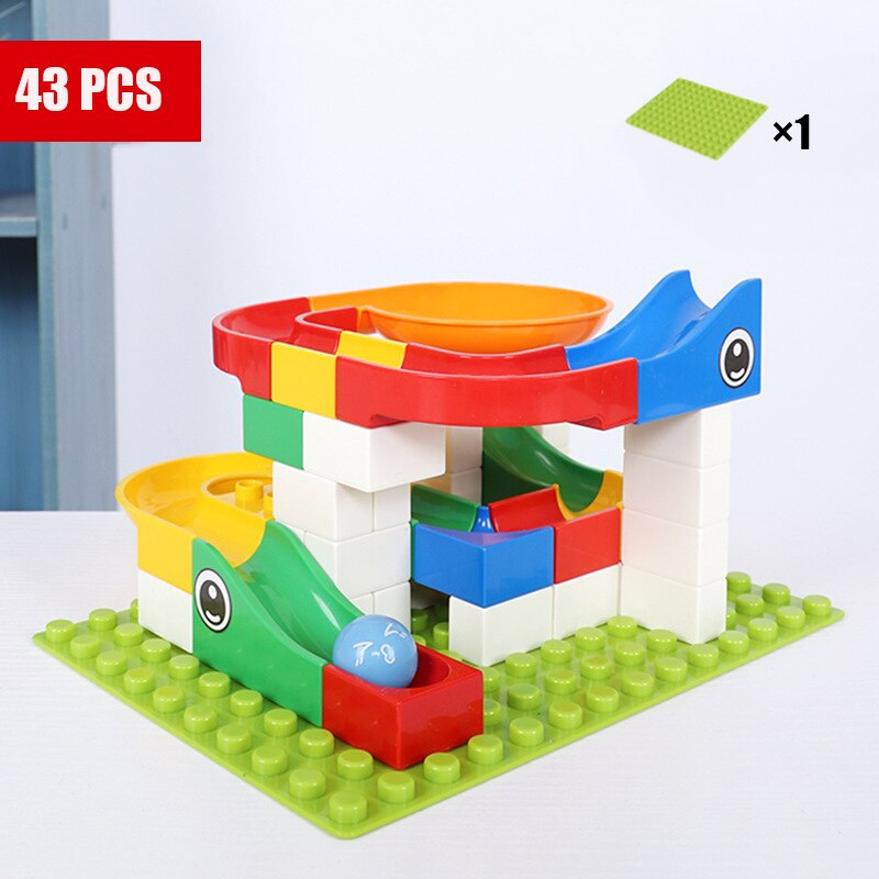 HTB1pxHpao rK1Rjy0Fcq6zEvVXai - Marble Maze Balls Track Building Block