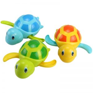 Cute Tortoise Bath Toys 3PC 4