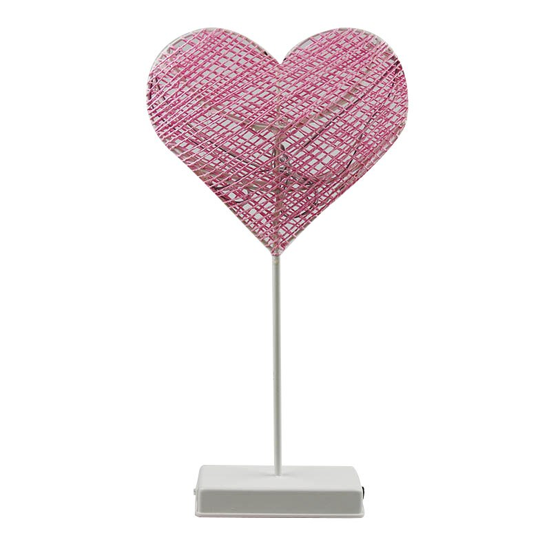 Heart And Star Shape Grass Rattan Woven LED Night Lamp (7)