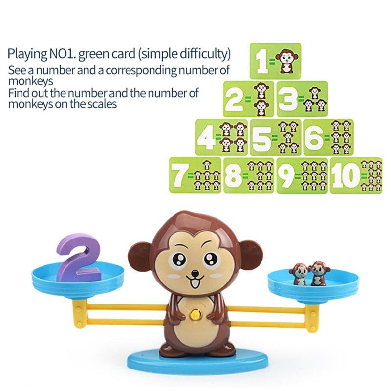 Monkey Balance Scale - Math Game