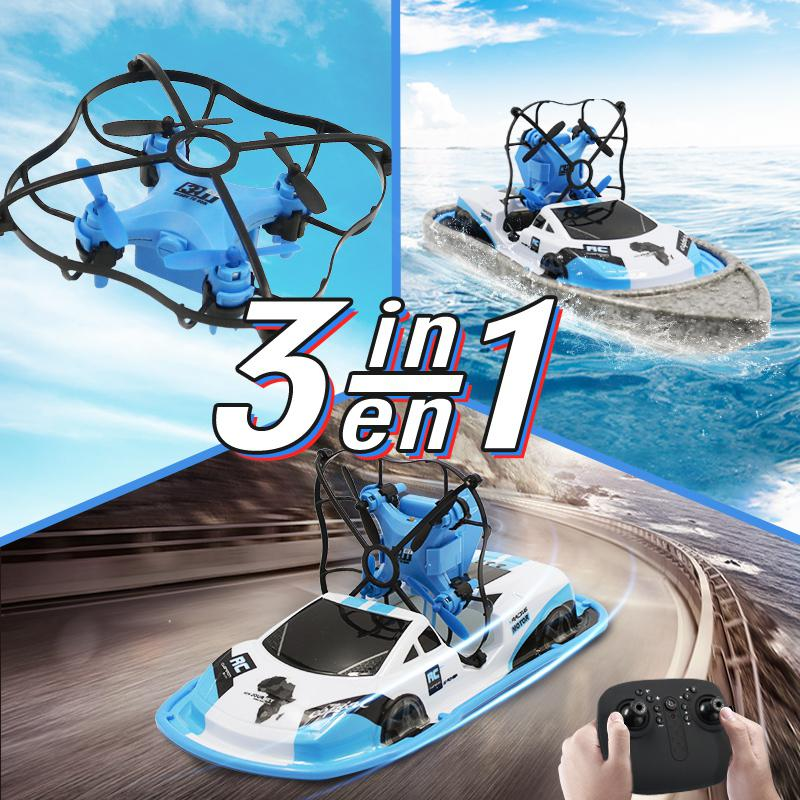 JJRC H36F 3 in 1 Mini RC Quadcopter Hovercraft Boat (1)