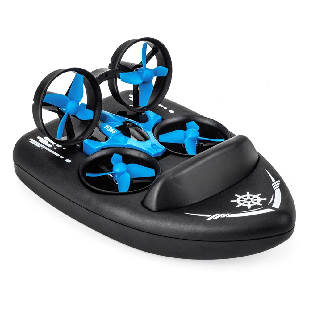JJRC H36F 3 in 1 Mini RC Quadcopter Hovercraft Boat (12)