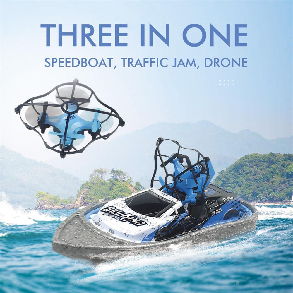 JJRC H36F 3 in 1 Mini RC Quadcopter Hovercraft Boat
