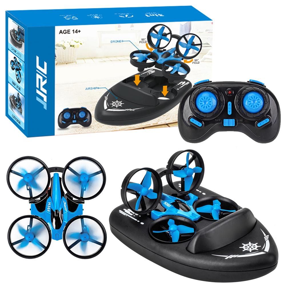 JJRC H36F 3 in 1 Mini RC Quadcopter Hovercraft Boat