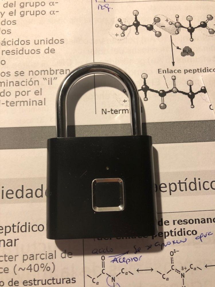 Smart Fingerprint Lock photo review