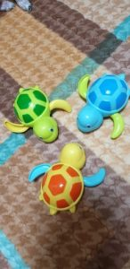 Cute Tortoise  Bath Toys 3PC photo review