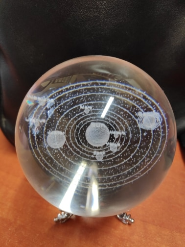 3D Crystal Planets Ball photo review
