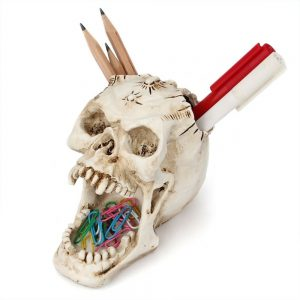 Skeleton Stationery Home Holder 3