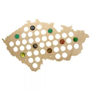 Beer Cap Map 4