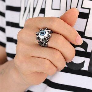 Evil Eye Ring 2