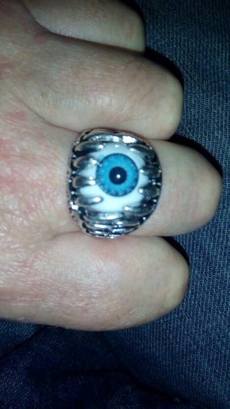 Evil Eye Ring photo review