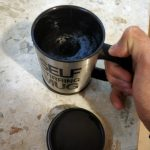 Self Stirring Coffee Mug photo review