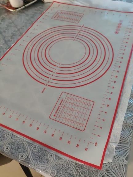 Non-Slip Silicone Pastry Mat photo review