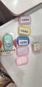 Mini Portable Soap Paper photo review