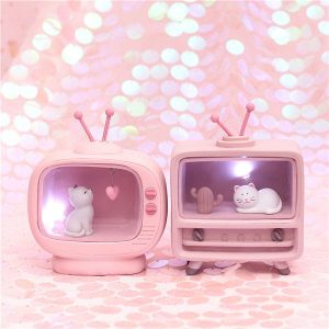 Cute Cat Decoration Night Light 4
