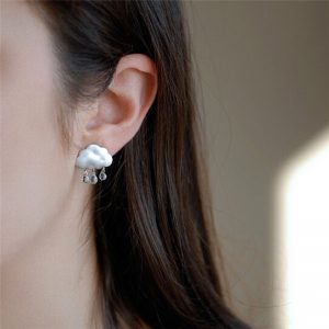 Rain Cloud Earrings 7