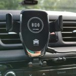10W qi smart sensor car wireless charger For iPhone photo review
