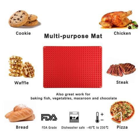 Pyramid Pan™ Silicone Baking Mat
