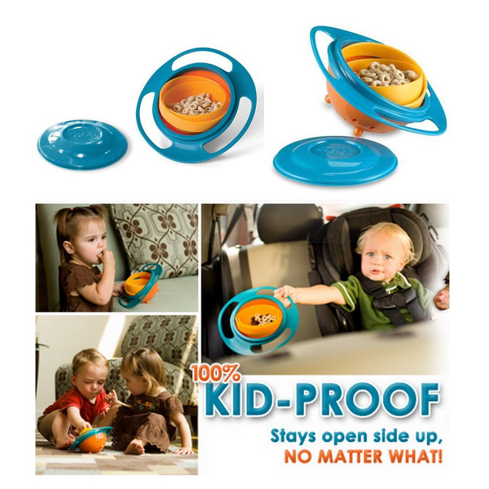 Spill-Proof Baby Gyro Bowl
