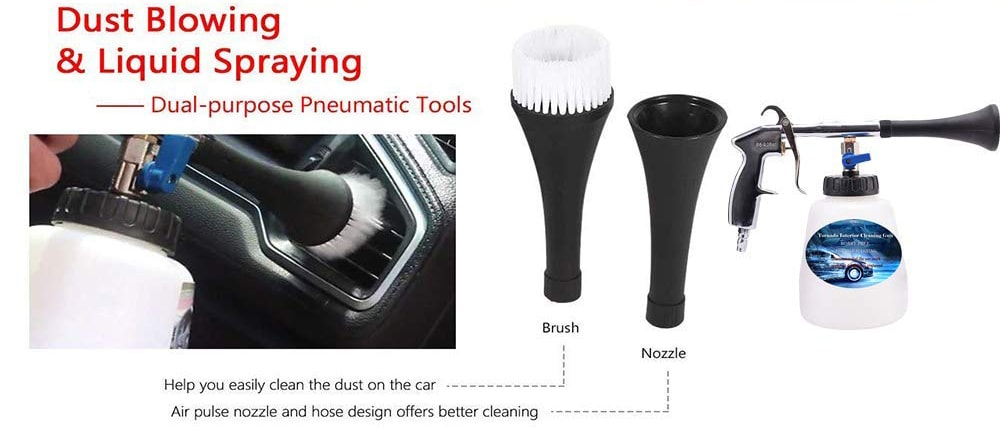 Car High Pressure Cleaning Washer Gun