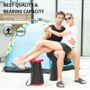 Telescoping Portable Stool