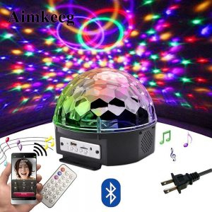 Magic Color Ball Bluetooth Speaker 9
