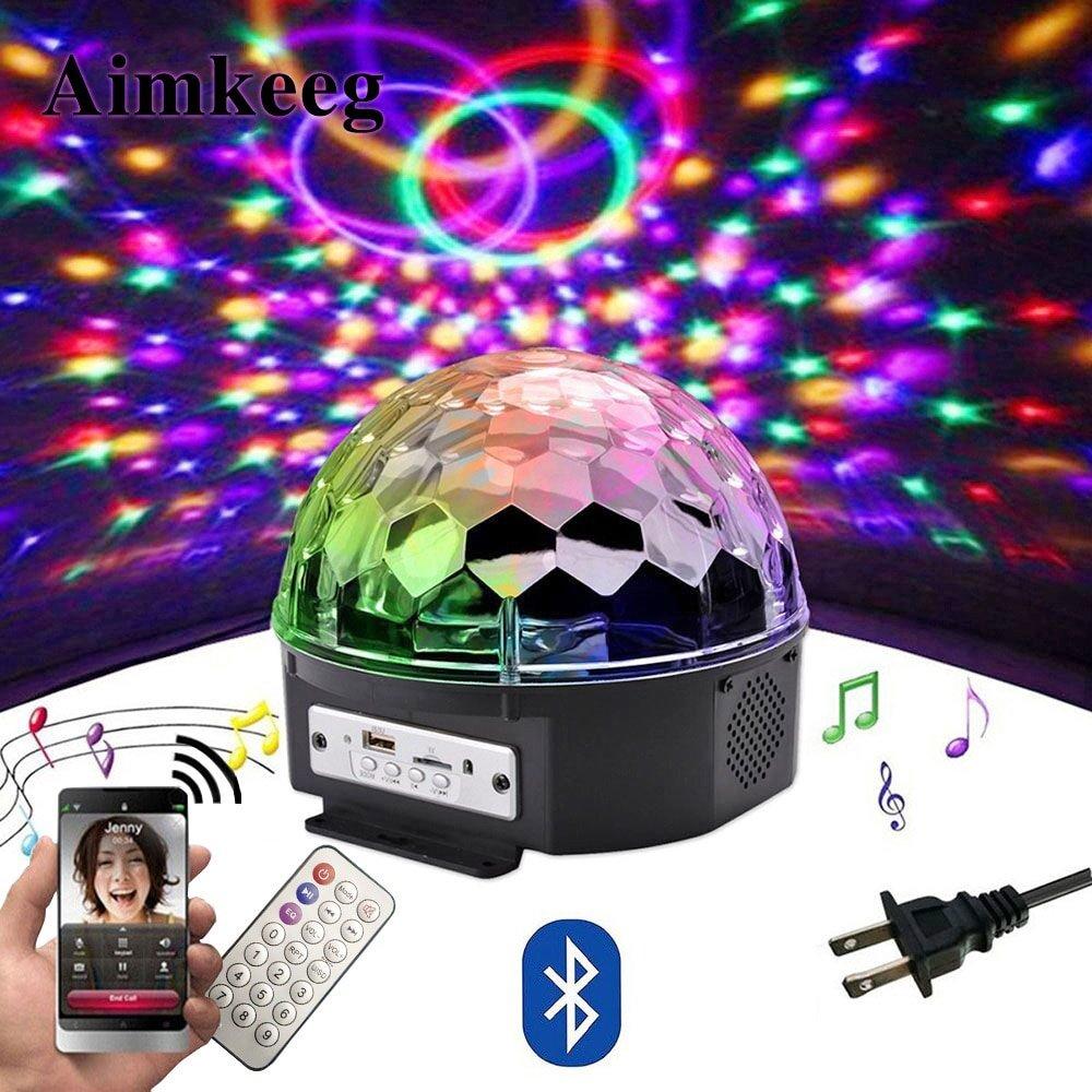 Magic Color Ball Bluetooth Speaker 4