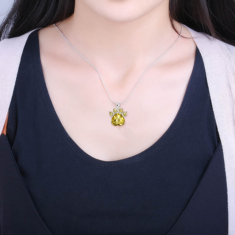 Hearty Paw Necklace