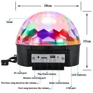 Magic Color Ball Bluetooth Speaker