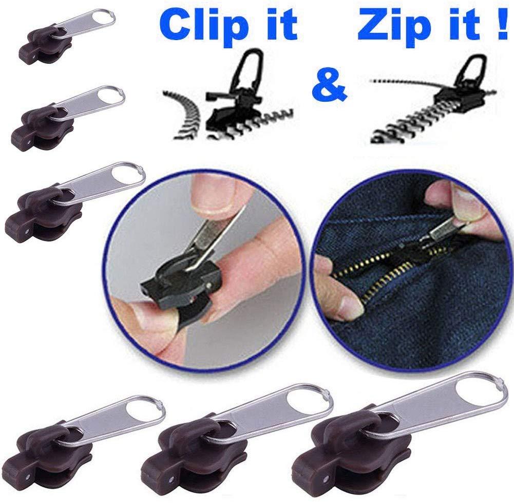 FixaZip™ Multi-function Instant Zipper Head (6 Pack) 3