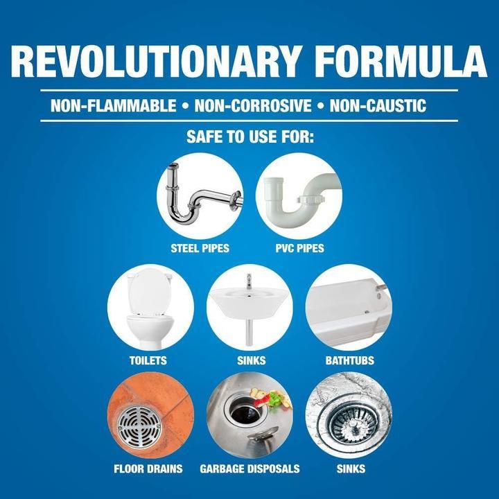 Wild Tornado™ Powerful Sink & Drain Cleaner
