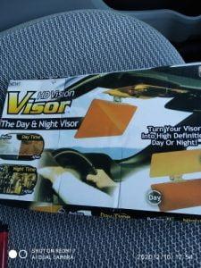 HD Vision Car Sun Visor photo review