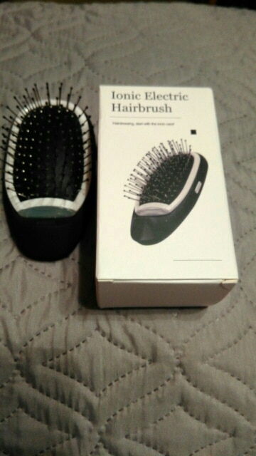 Ionic Anti-Frizz Hair Brush #1 Best Selling photo review