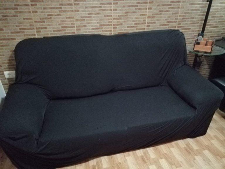 High Quality Stretchable Elastic Sofa Cover photo review