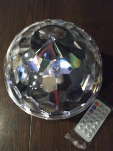 Magic Color Ball Bluetooth Speaker photo review