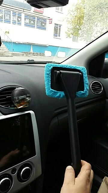 Microfiber Windshield Cleaner photo review