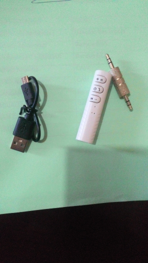 3.5mm Jack to Bluetooth Adapter photo review