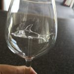 The Shark Wine Glass photo review