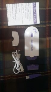 GlideAway™ Electric Hair Removal Kit photo review