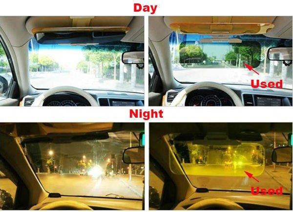 HD Vision Car Sun Visor